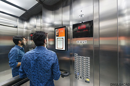 Os equipamentos instalados nos elevadores se provaram eficientes e abrangentes